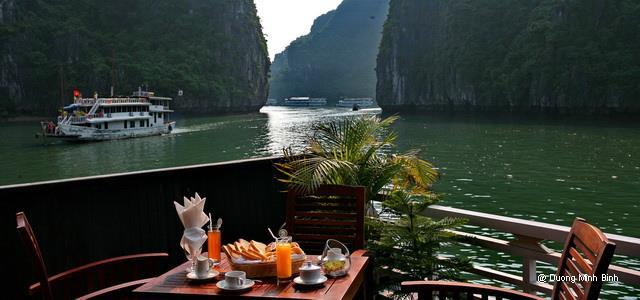 Du thuyền Pelican Luxury Cruise