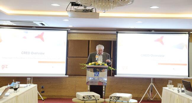 Hội thảo trực tuyến, Tư vấn chính sách cho Phát triển Kinh tế gắn với Chống chịu Biến đổi khí hậu