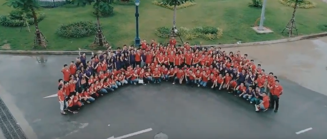 Teambuilding  tập đoàn DOJI- Đoàn Kết la Sức Mạnh