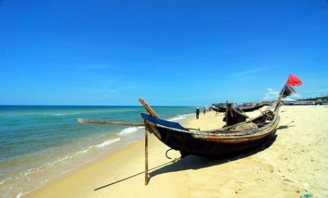 Vẻ đẹp thiên nhiên tiềm ẩn biển Thuận An
