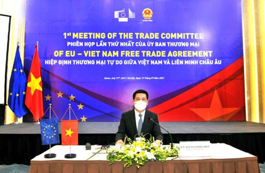 Kết quả Phiên họp lần thứ nhất Ủy ban Thương mại của Hiệp định Thương mại tự do song phương giữa Việt Nam và Liên minh châu Âu