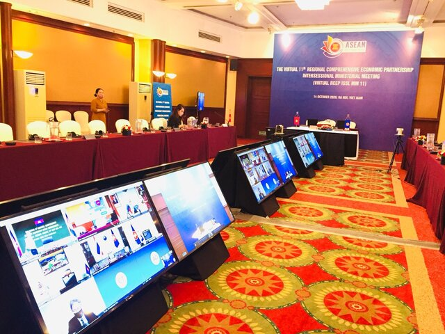 Hội thảo trực tuyến - The Virtual 11th Regional Comprehensive Economic Partnership Intersessional Ministerial Meeting