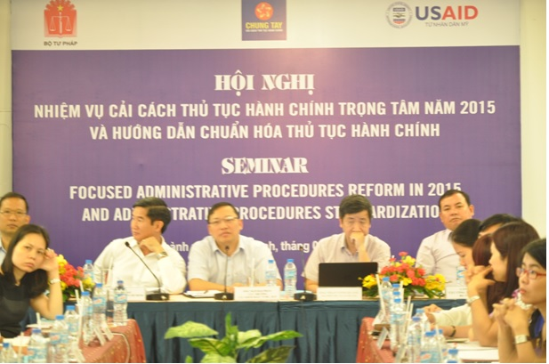 Hội nghị cải cách thủ tục hành chính trọng tâm 2015