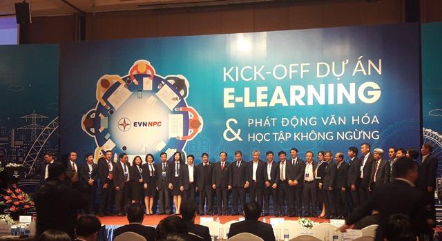 Kick-off dự án E-Learning và phát động văn hóa học tập không ngừng