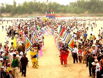 Lễ hội bà Thu Bồn -Quảng Nam