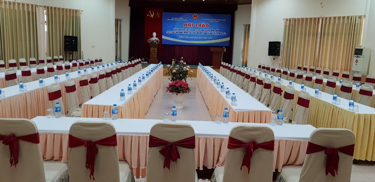 Tổ chức hội thảo tại Trung tâm tập Huấn và Cung ứng dịch vụ BIDV