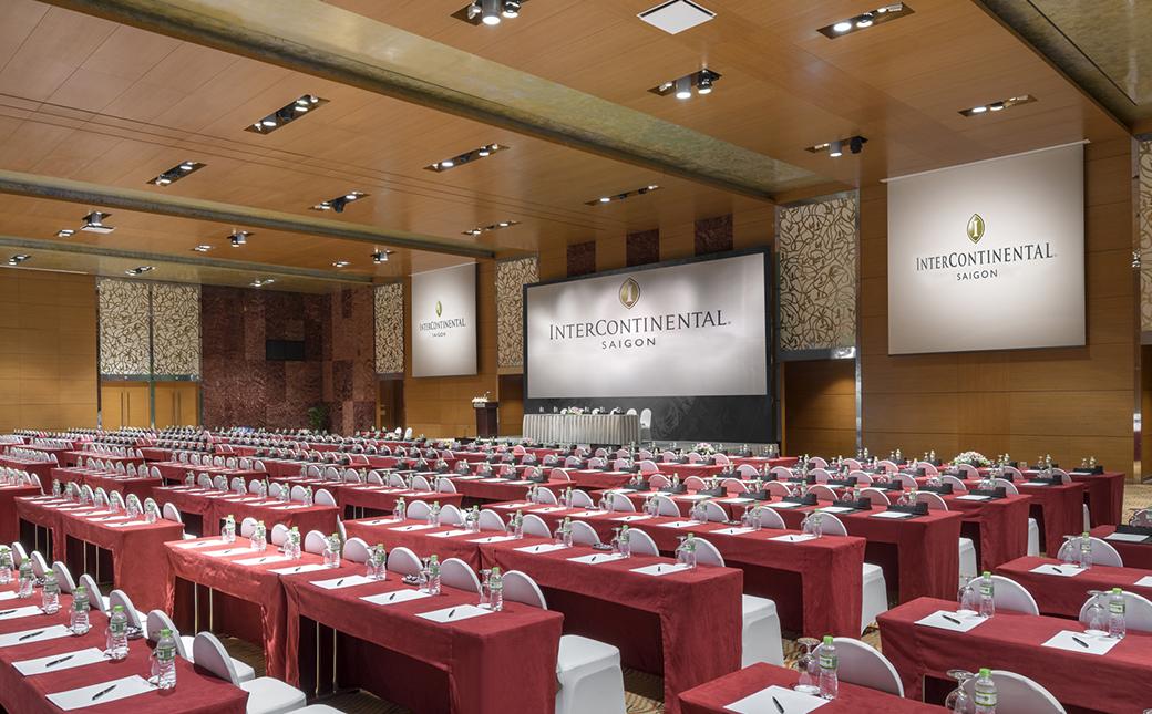 Tổ chức hội thảo tại Khách sạn Intercontinental