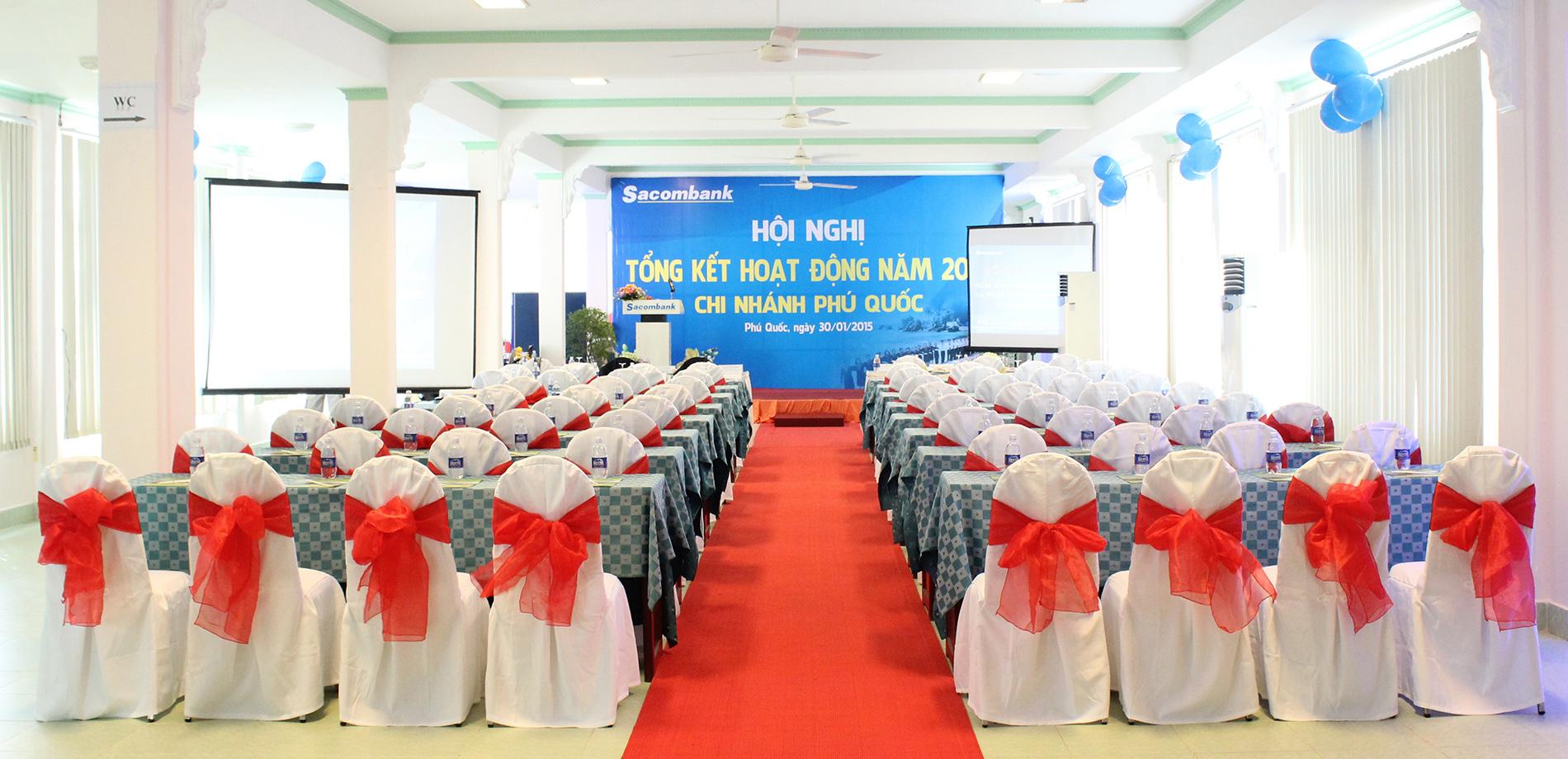 Tổ chức hội thảo tại khách sạn Thiên Hải Sơn