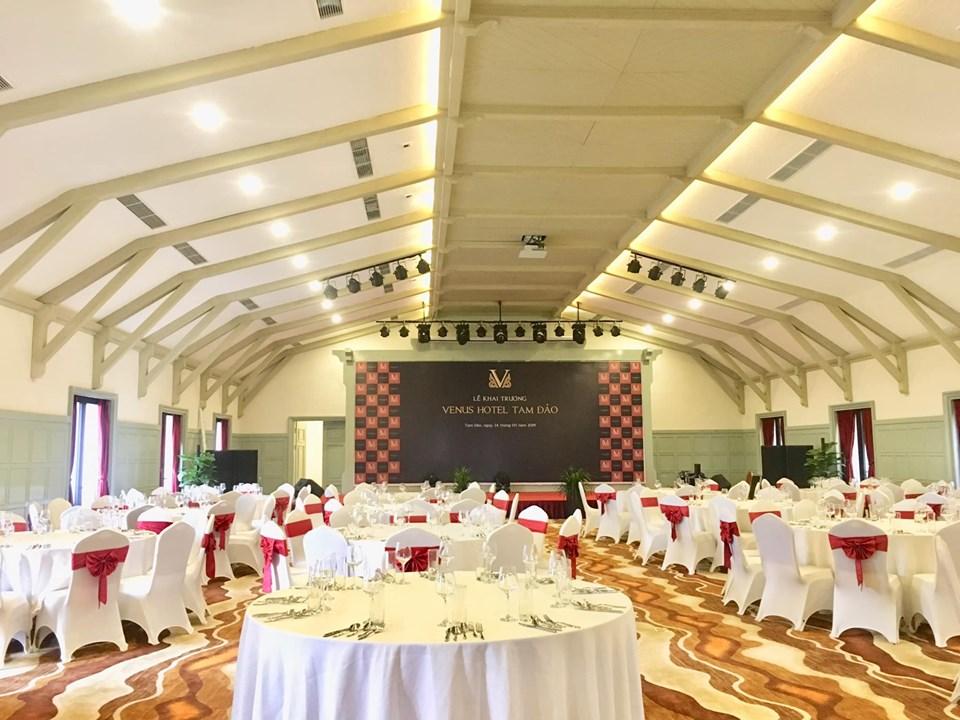 Tổ chức hội thảo tại khách sạn Venus Tam Đảo