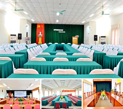 Hội thảo tại Khách sạn Khăn Quàng Đỏ
