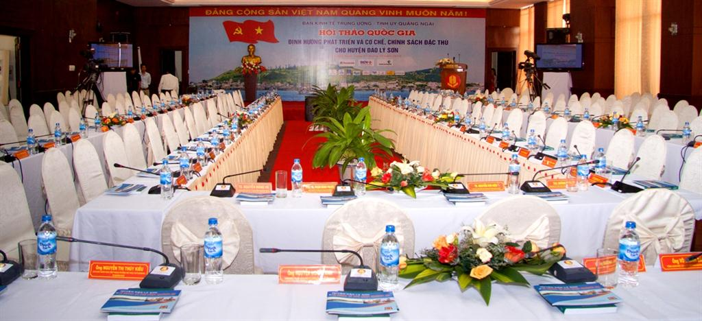 Tổ chức hội thảo tại Quảng Ngãi